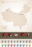 La république populaire de Chine Images libres de droits