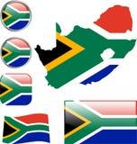 La République sud-africaine illustration libre de droits