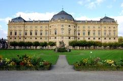 La résidence à Wurtzbourg, Bavière Photos stock