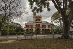 La résidence catholique du ` s d'Archibishop sur la savane à Port-d'Espagne, Trinidad Photo stock
