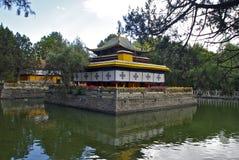 La résidence d'été du Dalai Lama Image libre de droits