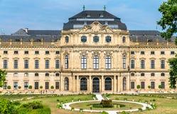 La résidence de Wurtzbourg, un palais en Bavière, Allemagne photos stock