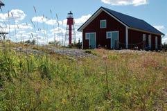 La résidence des keeperde phare Photographie stock libre de droits