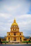 La résidence nationale française de l'Invalids à Paris Photos stock