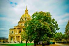 La résidence nationale française de l'Invalids à Paris Photo stock