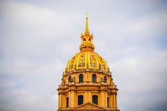 La résidence nationale française de l'Invalids à Paris Photographie stock libre de droits
