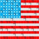 La rétro Amérique grunge Images libres de droits