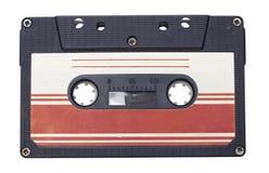 La rétro bande de cassette sonore a isolé photos libres de droits