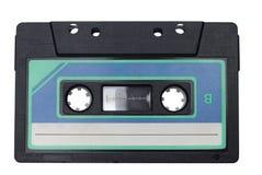 La rétro bande de cassette sonore a isolé images libres de droits