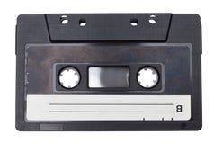 La rétro bande de cassette sonore a isolé photo stock
