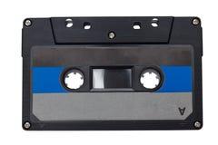 La rétro bande de cassette sonore a isolé photographie stock