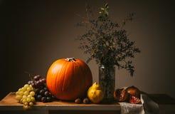 La rétro de thanksgiving toujours vie Photographie stock libre de droits