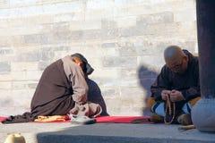La réunion de prière Photos libres de droits