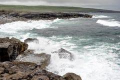 La r?gion de Burren, Clare, Irlande en Europe photos stock