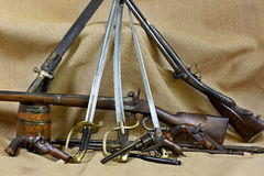 La raccolta arma tre Immagine Stock