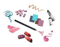 La raccolta di vario compone gli accessori Fotografie Stock
