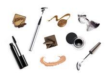 La raccolta di vario compone gli accessori Immagini Stock