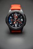 La raccolta di Watchface per il wear& di androide tizen Fotografia Stock