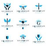 La raccolta grafica dei logotypes di vettore di Spirito Santo, può essere usata dentro illustrazione di stock