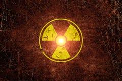 La radiación canta Imagenes de archivo