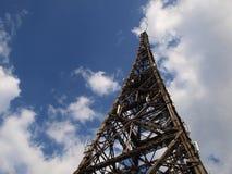 La radio de madera vieja Gliwice de la torre Imagen de archivo libre de regalías