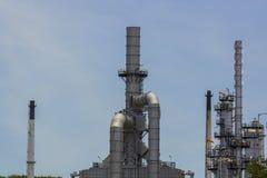 La raffineria Immagine Stock