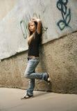 La ragazza - adolescente Immagine Stock Libera da Diritti
