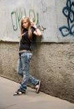 La ragazza - adolescente Immagini Stock Libere da Diritti