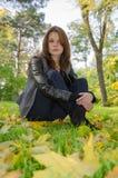 La ragazza - autunno. Fotografia Stock Libera da Diritti