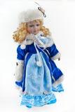 La ragazza della neve Immagini Stock