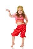 La ragazza di dancing Immagine Stock