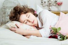 Bei sonni della ragazza Immagine Stock Libera da Diritti