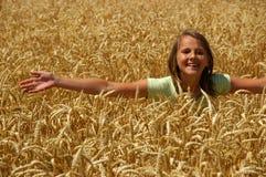 La ragazza felice Immagine Stock Libera da Diritti