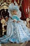 La ragazza finge essere principessa Fotografie Stock