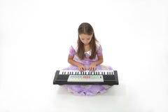 La ragazza musicale Immagine Stock