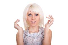 La ragazza sorpresa Immagine Stock Libera da Diritti