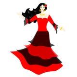 La ragazza spagnola Immagini Stock