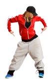 La ragazza sta ballando Immagini Stock