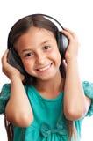 La ragazza sta sorridendo Fotografie Stock Libere da Diritti
