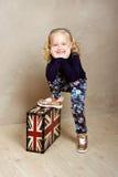 La ragazza sta sorridendo Immagini Stock