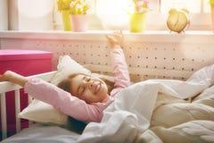La ragazza sveglia Fotografia Stock Libera da Diritti