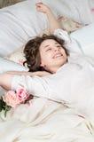 Bei sonni della ragazza Fotografia Stock Libera da Diritti