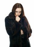 La ragazza triste Immagine Stock