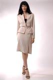 La ragazza in un vestito Immagini Stock Libere da Diritti