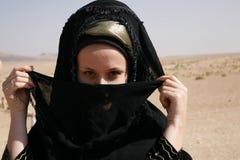 La ragazza in un vestito nazionale Fotografie Stock