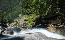 La Raillere-Wasserfall Lizenzfreie Stockfotos