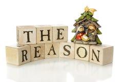 La raison de la saison Image libre de droits