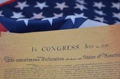 La raison derrière le 4ème juillet Photo libre de droits