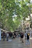 La Rambla, Barcelona lizenzfreie stockfotos