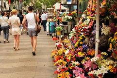 La Rambla, Barcelona Royalty Free Stock Image